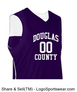 Youth Triple Double Reversible Jersey Design Zoom